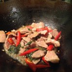 Pat Kapow Moo – Pork Thai Basil & Fresh Chilli